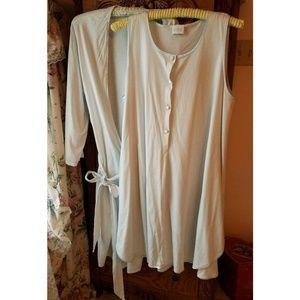 Hanro Nightgown & Robe 2 piece set Large